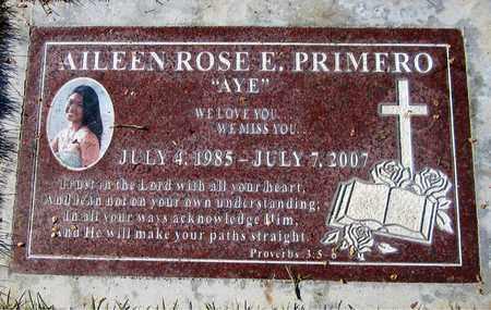 PRIMERO, AILEEN ROSE E. - Maricopa County, Arizona   AILEEN ROSE E. PRIMERO - Arizona Gravestone Photos