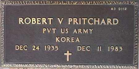 PRITCHARD, ROBERT V. - Maricopa County, Arizona   ROBERT V. PRITCHARD - Arizona Gravestone Photos