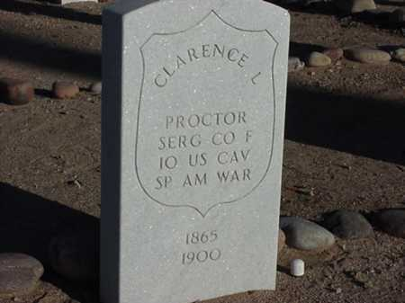PROCTOR, CLARENCE L - Maricopa County, Arizona | CLARENCE L PROCTOR - Arizona Gravestone Photos
