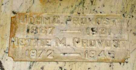 POLING PROVOST, NETTIE MAY - Maricopa County, Arizona | NETTIE MAY POLING PROVOST - Arizona Gravestone Photos