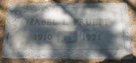 PRUETT, MABEL L. - Maricopa County, Arizona | MABEL L. PRUETT - Arizona Gravestone Photos