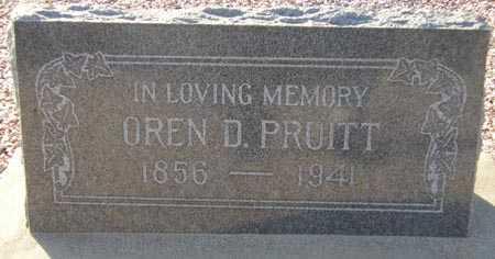 PRUITT, OREN D. - Maricopa County, Arizona | OREN D. PRUITT - Arizona Gravestone Photos