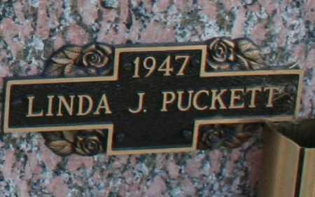 PUCKETT, LINDA J - Maricopa County, Arizona | LINDA J PUCKETT - Arizona Gravestone Photos