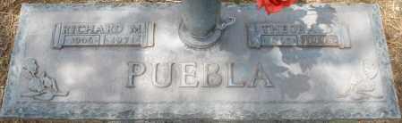 PUEBLA, RICHARD M. - Maricopa County, Arizona | RICHARD M. PUEBLA - Arizona Gravestone Photos