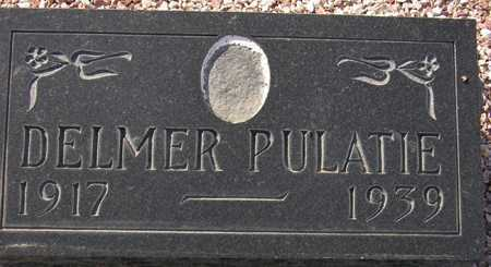 PULATIE, DELMER - Maricopa County, Arizona | DELMER PULATIE - Arizona Gravestone Photos