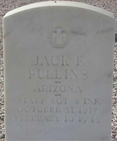 PULLINS, JACK F. - Maricopa County, Arizona | JACK F. PULLINS - Arizona Gravestone Photos