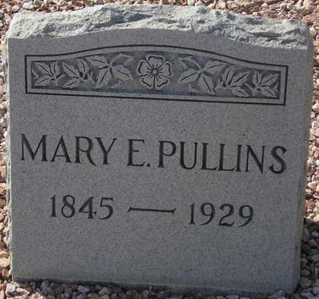 PULLINS, MARY E. - Maricopa County, Arizona   MARY E. PULLINS - Arizona Gravestone Photos