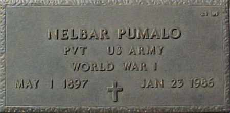 PUMALO, NELBAR - Maricopa County, Arizona | NELBAR PUMALO - Arizona Gravestone Photos