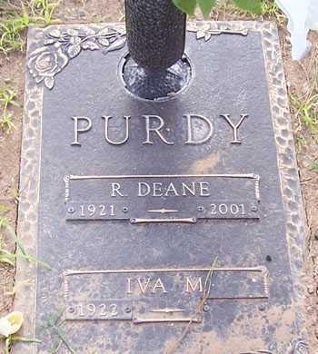 PURDY, IVA M. - Maricopa County, Arizona | IVA M. PURDY - Arizona Gravestone Photos