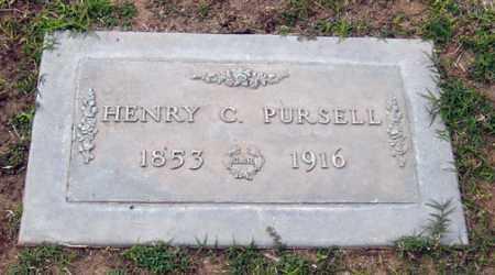 PURSELL, HENRY C. - Maricopa County, Arizona | HENRY C. PURSELL - Arizona Gravestone Photos