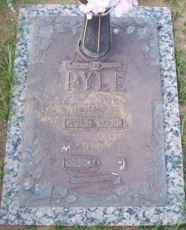 PYLE, JOHN H. - Maricopa County, Arizona | JOHN H. PYLE - Arizona Gravestone Photos