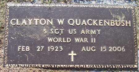 QUACKENBUSH, CLAYTON W. - Maricopa County, Arizona   CLAYTON W. QUACKENBUSH - Arizona Gravestone Photos