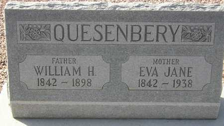 QUESENBERY, EVA JANE - Maricopa County, Arizona | EVA JANE QUESENBERY - Arizona Gravestone Photos