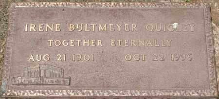 QUIGLEY, IRENE BULTMEYER - Maricopa County, Arizona | IRENE BULTMEYER QUIGLEY - Arizona Gravestone Photos