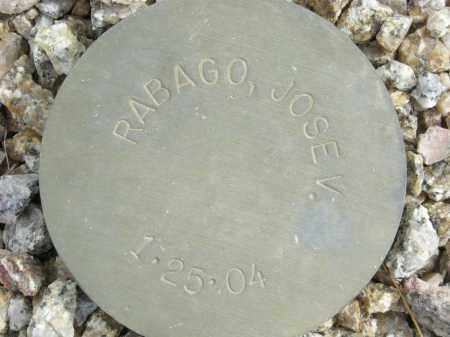 RABAGO, JOSE V. - Maricopa County, Arizona | JOSE V. RABAGO - Arizona Gravestone Photos