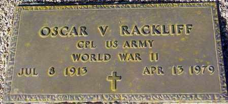 RACKLIFF, OSCAR V. - Maricopa County, Arizona | OSCAR V. RACKLIFF - Arizona Gravestone Photos