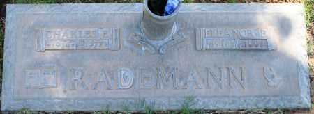 RADEMANN, ELEANOR B - Maricopa County, Arizona | ELEANOR B RADEMANN - Arizona Gravestone Photos