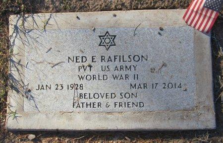 RAFILSON, NED E - Maricopa County, Arizona | NED E RAFILSON - Arizona Gravestone Photos