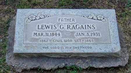 RAGAINS, LEWIS G. - Maricopa County, Arizona | LEWIS G. RAGAINS - Arizona Gravestone Photos