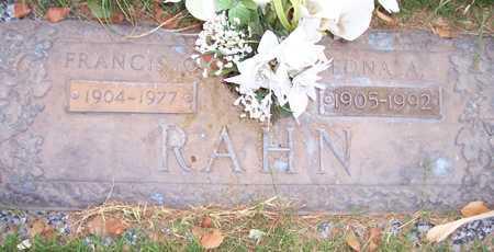 RAHN, EDNA A. - Maricopa County, Arizona | EDNA A. RAHN - Arizona Gravestone Photos