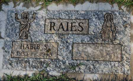 RAIES, HABIB S. - Maricopa County, Arizona | HABIB S. RAIES - Arizona Gravestone Photos