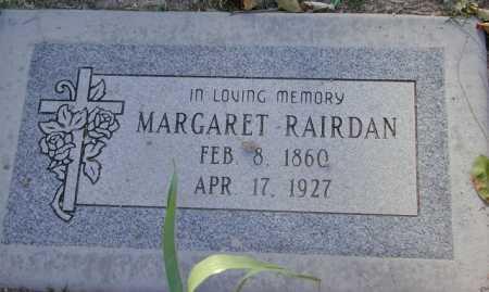 RAIRDAN, MARGARET - Maricopa County, Arizona | MARGARET RAIRDAN - Arizona Gravestone Photos