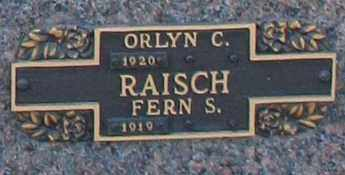 RAISCH, ORLYN C - Maricopa County, Arizona   ORLYN C RAISCH - Arizona Gravestone Photos