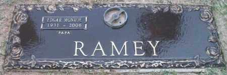 RAMEY, EDGAR MONROE - Maricopa County, Arizona | EDGAR MONROE RAMEY - Arizona Gravestone Photos