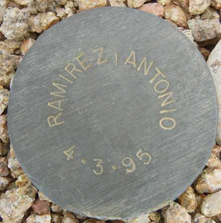RAMIREZ, ANTONIO - Maricopa County, Arizona | ANTONIO RAMIREZ - Arizona Gravestone Photos