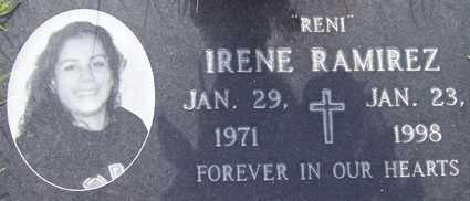 "RAMIREZ, IRENE ""RENI"" - Maricopa County, Arizona | IRENE ""RENI"" RAMIREZ - Arizona Gravestone Photos"