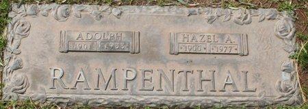 RAMPENTHAL, HAZEL A - Maricopa County, Arizona | HAZEL A RAMPENTHAL - Arizona Gravestone Photos