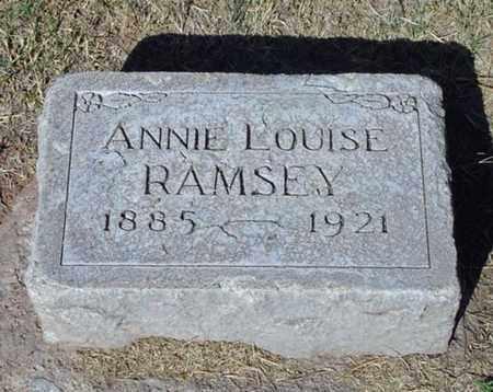 RAMSEY, ANNIE LOUISE - Maricopa County, Arizona | ANNIE LOUISE RAMSEY - Arizona Gravestone Photos