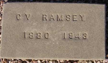 RAMSEY, CALLY V. - Maricopa County, Arizona | CALLY V. RAMSEY - Arizona Gravestone Photos