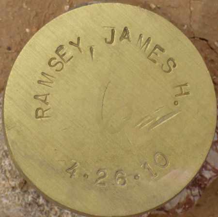 RAMSEY, JAMES H. - Maricopa County, Arizona | JAMES H. RAMSEY - Arizona Gravestone Photos