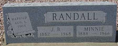 RANDALL, MINNIE - Maricopa County, Arizona | MINNIE RANDALL - Arizona Gravestone Photos