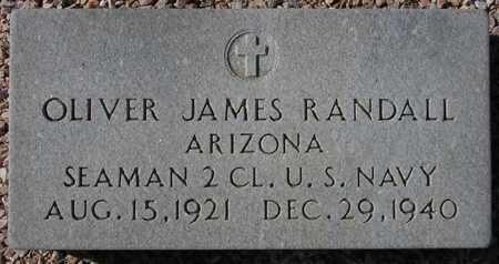 RANDALL, OLIVER JAMES - Maricopa County, Arizona | OLIVER JAMES RANDALL - Arizona Gravestone Photos