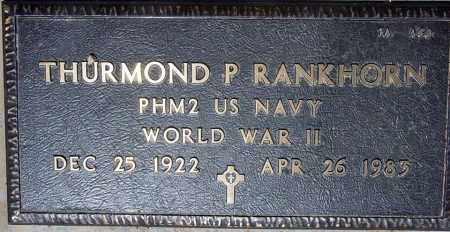 RANKHORN, THURMOND P. - Maricopa County, Arizona | THURMOND P. RANKHORN - Arizona Gravestone Photos
