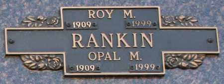 RANKIN, OPAL M - Maricopa County, Arizona | OPAL M RANKIN - Arizona Gravestone Photos