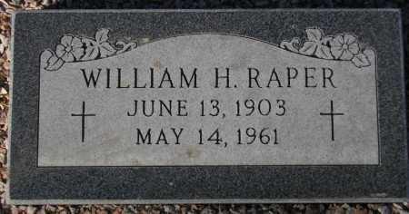 RAPER, WILLIAM H. - Maricopa County, Arizona   WILLIAM H. RAPER - Arizona Gravestone Photos