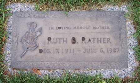 RATHER, RUTH B. - Maricopa County, Arizona | RUTH B. RATHER - Arizona Gravestone Photos