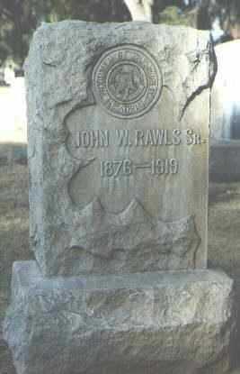 RAWLS, JOHN W, SR - Maricopa County, Arizona | JOHN W, SR RAWLS - Arizona Gravestone Photos