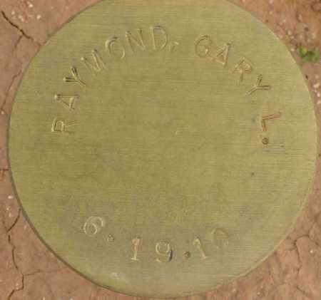 RAYMOND, GARY L. - Maricopa County, Arizona   GARY L. RAYMOND - Arizona Gravestone Photos