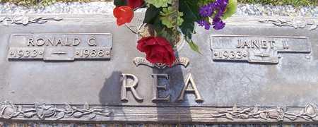 REA, RONALD C. - Maricopa County, Arizona | RONALD C. REA - Arizona Gravestone Photos