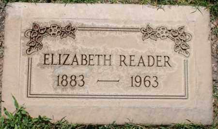 READER, ELIZABETH - Maricopa County, Arizona | ELIZABETH READER - Arizona Gravestone Photos