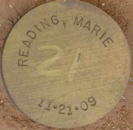 READING, MARIE - Maricopa County, Arizona | MARIE READING - Arizona Gravestone Photos