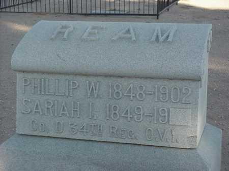 REAM, PHILLIP W - Maricopa County, Arizona | PHILLIP W REAM - Arizona Gravestone Photos