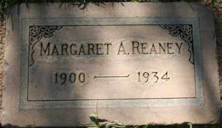 REANEY, MARGARET A - Maricopa County, Arizona | MARGARET A REANEY - Arizona Gravestone Photos