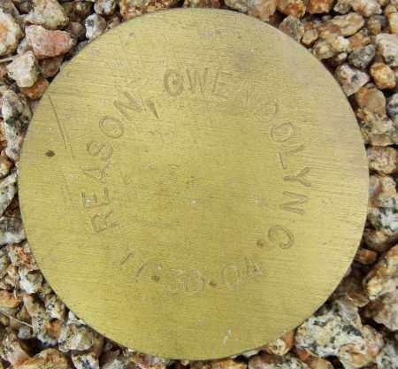 REASON, GWENDOLYN C. - Maricopa County, Arizona | GWENDOLYN C. REASON - Arizona Gravestone Photos