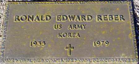REBER, RONALD EDWARD - Maricopa County, Arizona | RONALD EDWARD REBER - Arizona Gravestone Photos