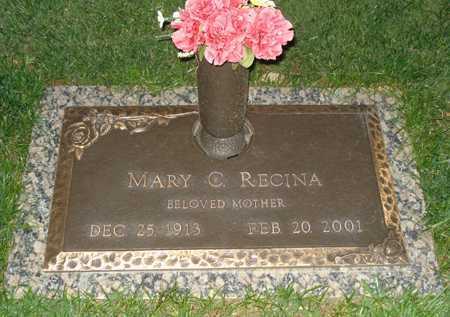 RECINA, MARY C. - Maricopa County, Arizona | MARY C. RECINA - Arizona Gravestone Photos
